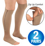 Zipper Compression Socks - 2