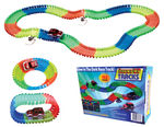 Magic Light Up Glow In the Dark Twisting Race Tracks - 162pc Deluxe Sets