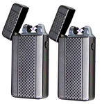 2 Tactical Dual Arch Beam Lighter - As Seen On TV USB Electric Plasma Torch Tac Lighter