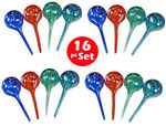 Plant Watering Globes - Automatic Watering Bulbs - 16pc Mini
